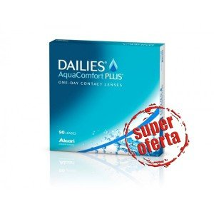 DAILIES AquaComfort Plus - 90 szt.