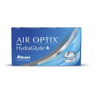 Air Optix Plus HydraGlyde 3 sztuki