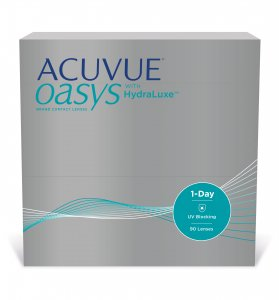 Acuvue® Oasys 1-Day with HydraLuxe - 90 soczewek