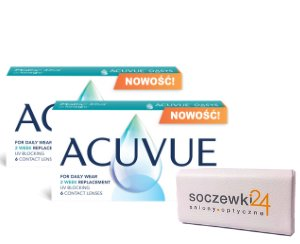 2 x Acuvue Oasys with Transitions™ - 2 x 6 soczewek + powerbank