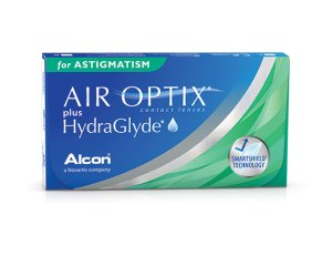 Air Optix Plus HydraGlyde for ASTIGMATISM 3 szt.