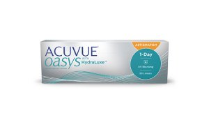 Nowość - Acuvue® Oasys 1-Day with HydraLuxe for astigmatism - 30 soczewek