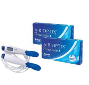 2 x Air Optix Plus HydraGlyde - 2 x 6 szt. + skakanka GRATIS