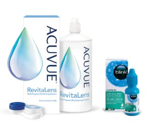 ACUVUE™ REVITALENS 360 ML + Krople Blink® GRATIS