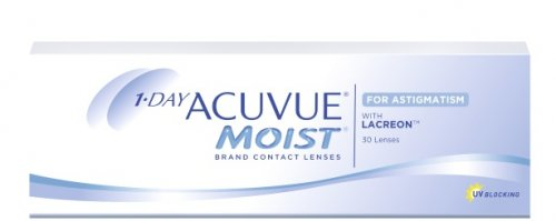 1 Day Acuvue Moist for Astigmatism - 30 soczewek