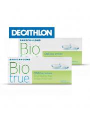 2 x Biotrue® ONEday 30 szt. + voucher Decathlon GRATIS