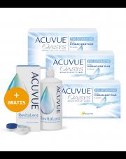 3 x ACUVUE® OASYS for ASTIGMATISM - 3 x 6 szt. +  płyn ACUVUE™ RevitaLens 360 ml