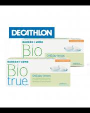 2 x Biotrue® ONEday for Astigmatism 30 szt.  + voucher Decathlon GRATIS