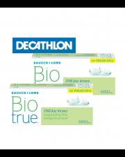 2 x Biotrue® ONEday for Presbyopia 30 szt.  + voucher Decathlon GRATIS