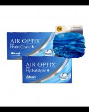 2 x AIR OPTIX® plus HydraGlyde® - 2 x 6 szt. + GRATIS