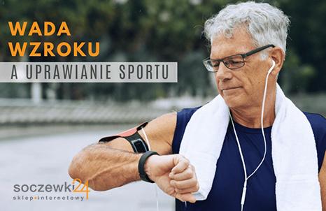 Wada wzroku a uprawianie sportu