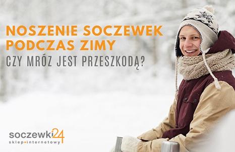 Noszenie soczewek zimą - czy mróz jest przeszkodą?